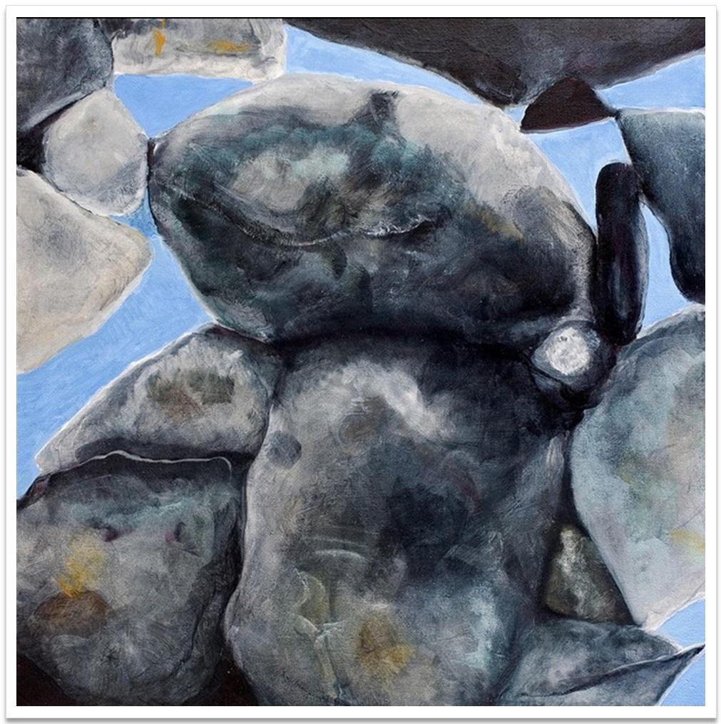 "DAYLIGHT I ~ 20"" x 20"" oil on canvas"