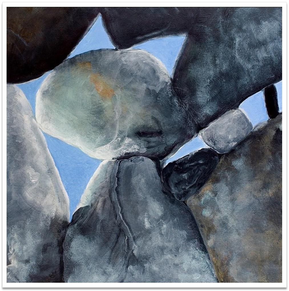 """DAYLIGHT II ~ 20"""" x 20"""" oil on canvas"""