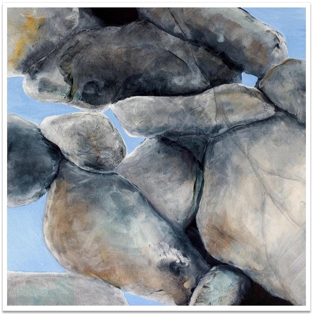 """DAYLIGHT III ~ 20"""" x 20"""" oil on canvas"""