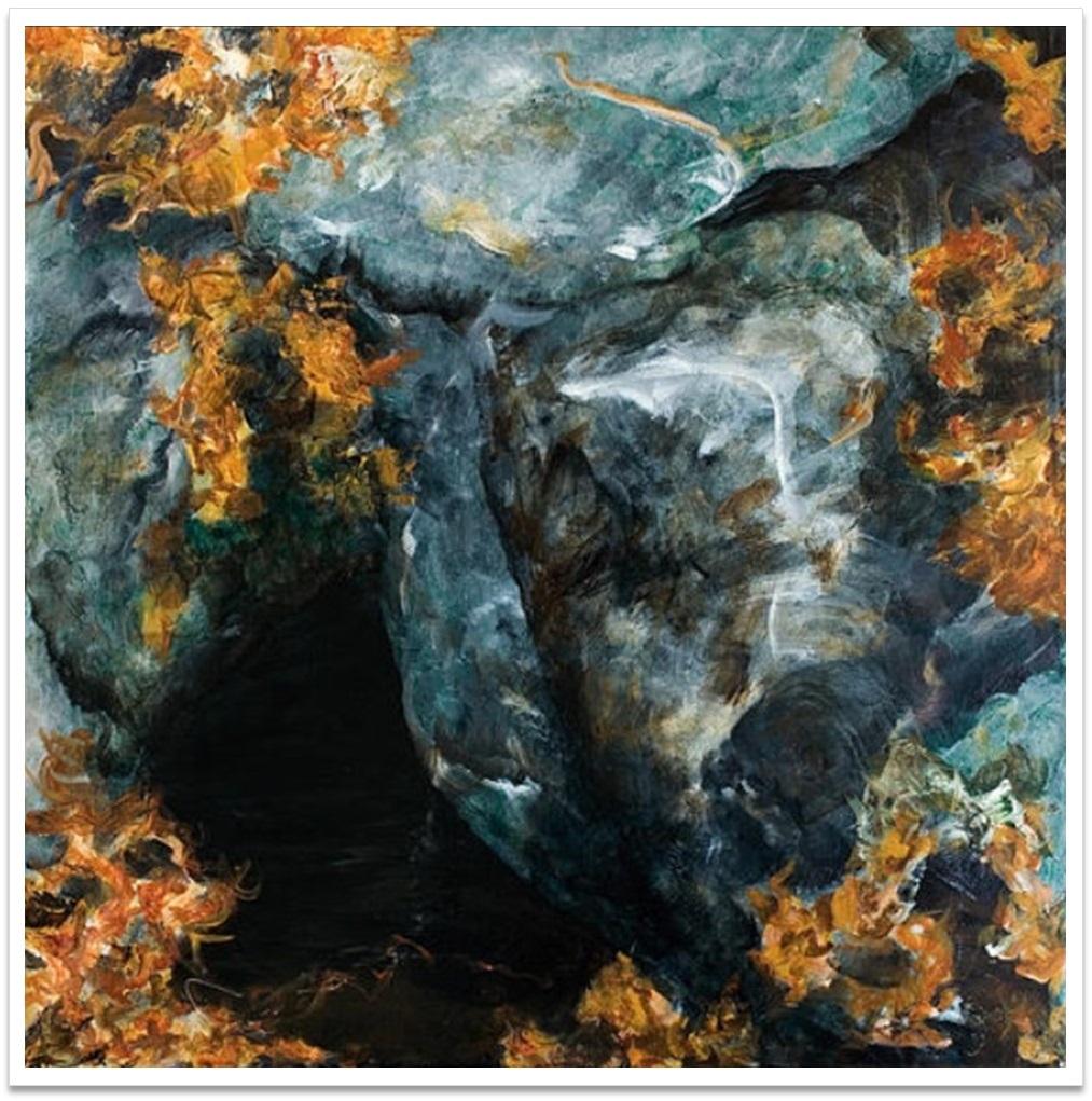 """PENUMBRA I ~ 32"""" x 32"""" oil on canvas"""