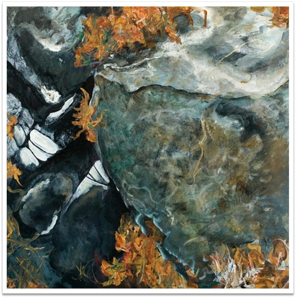 """PENUMBRA II ~ 32"""" x 32"""" oil on canvas"""